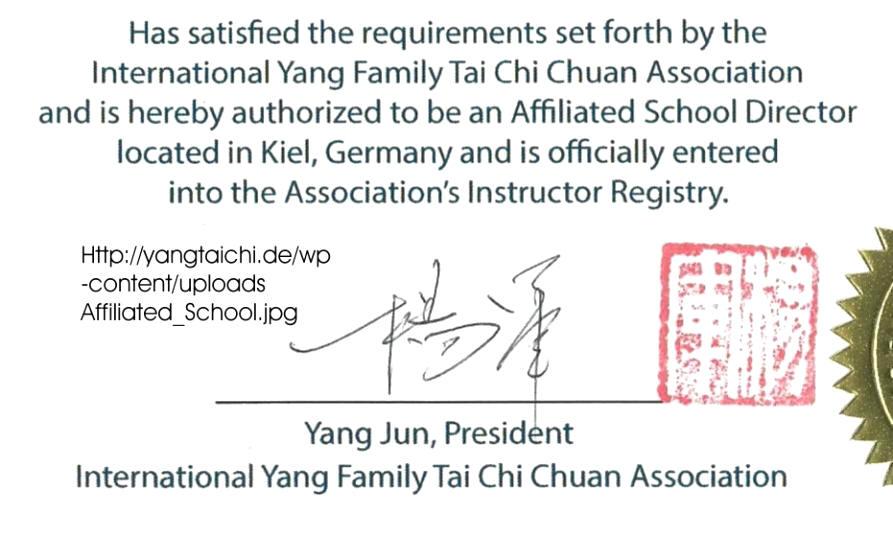 wUDE - Das Einfordern von Gehorsam und Loyalität in der Yang-Familie